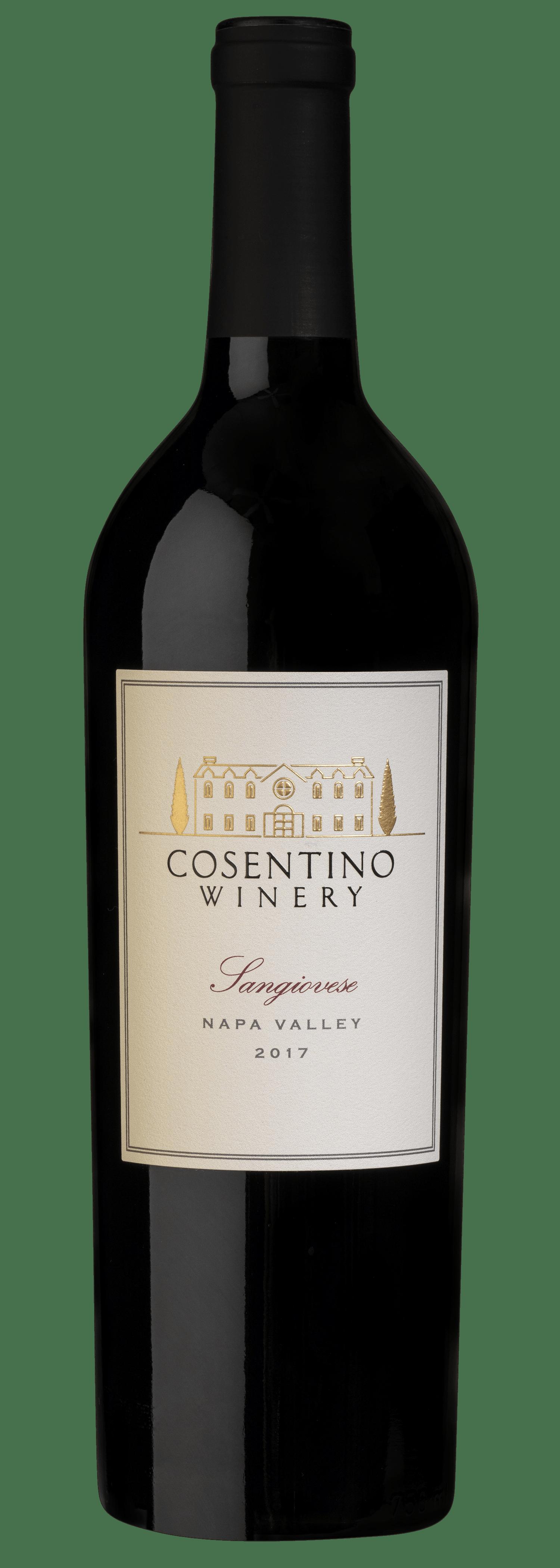 2017 Cosentino Winery Sangiovese, Napa Valley, 750ml