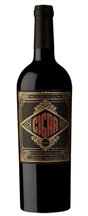 2016 Cigar Bourbon Barrel-Aged Cabernet Sauvignon, California, 750ml
