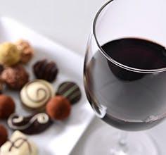 Cosentino Winery wine and chocolates