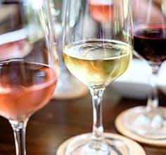 Cosentino Winery wine glasses from THE Flight Tasting